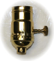 brass lamp socket